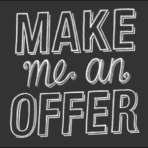 MAKE ME AN OFFER I CANNOT REFUSE 🤷🏻♀️